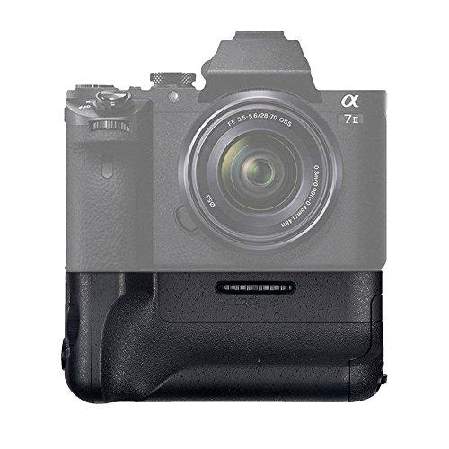 Mondpalast @ Vertikaler Batteriegriff für NP-FW50 Akku Sony A7 Mark II A7R MKII A7II Sony Alpha 7 II A7M2 A7R2 Kamera SLR
