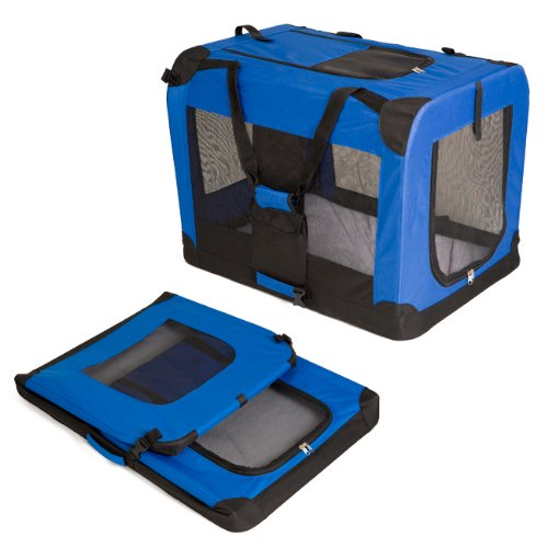 heavy-duty-dog-travel-crate-collapsible-blue-dog-carrier-large-81x58cm