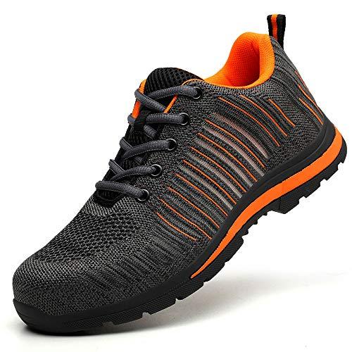 tsschuhe Sneaker Sportschuhe Trendige Mesh Weben Ultraleichte Laufschuhe Freizeitschuhe Atmungsaktiv Leicht Sportlich Geeignet für drinnen und draußen Bergsteigen Lauftraining ()