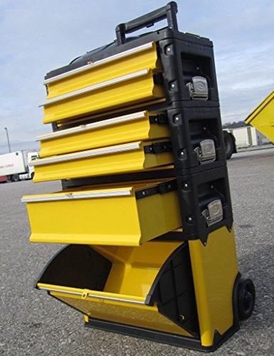 METALL Werkzeugtrolley Werkzeugkasten Werkstattwagen XXL Type 305/BBCD von AS-S - 8