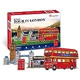 3D Puzzle - Besuch in London (Schwierigkeit : 4/8)