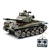 U.S. M41A3 WALKER BULLDOG Kampfpanzer - R/C ferngesteuerter Panzer mit SCHUSS & RAUCH & SOUND - FUNKTION! Massstab 1:16 ,Mit Munition ,Power-Motor und Akku, Ready To Drive, RC