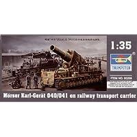 Trumpeter 209 - KARL mortero 040/041 de última hora con RTC