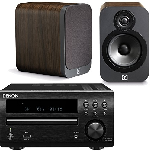 denon-dm40dab-micro-system-with-q-acoustics-3020-speakers-black-walnut