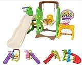 Clarmaro 'Baby Adventure' Kinder Spielplatz Rutsche mit 80 cm Länge für Kleinkinder und Babys, Indoor/Outdoor Garten Rutschbahn mit abgerundeten Ecken und Kanten, extra Breiten Standbeinen und Stufen