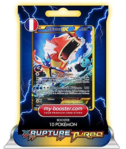 LEVIATOR EX ALF ART SECRETE 123/122 180PV XY09 RUPTURE TURBO - Booster de 10 cartes Pokemon francaises my-booster