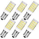 Anxingo Set da 6 Lampade a LED E14 Non Dimmerabile Lampadina Temperatura 3000K 6W