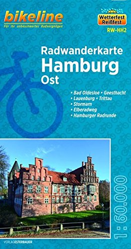 Hamburg East Cycling Tour Map 2014 por Bikeline