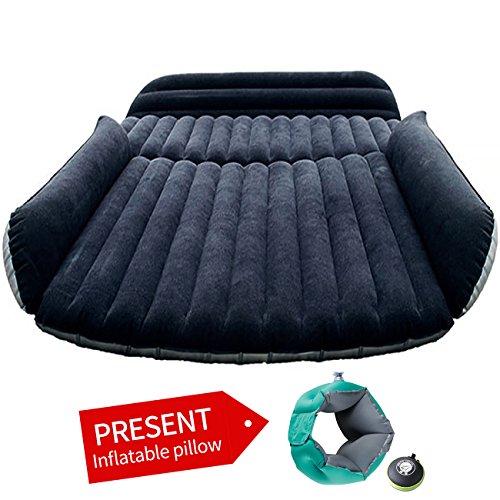 ASJ Auto Travel aufblasbare Matratze aufblasbares Bett Camping Universal (schwarz SUV) (Aufblasbare Sport-auto)