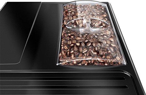 Melitta Caffeo Solo E950-222 Schlanker Kaffeevollautomat mit Vorbrühfunktion | 15 Bar | LED-Display | höhenverstellbarer Kaffeeauslauf | Herausnehmbare Brühgruppe | Pure Black