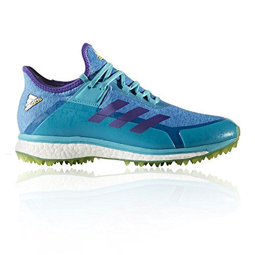 best website 9f074 0d42c adidas Womens Fabela X Aqua Yellow Hockey Schuh - SS18-38.7