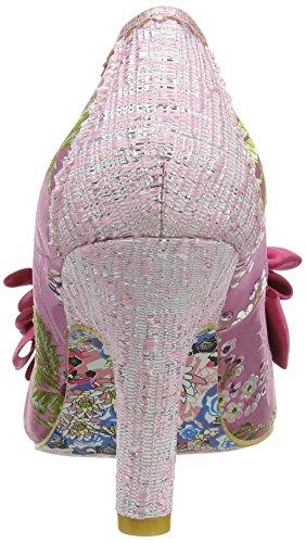 Irregular ChoiceAscot - Scarpe con Tacco Donna Pink (Pink Multi)