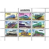 Locomotive stamp strato per i collezionisti -