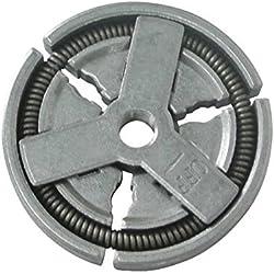 Générique Embrayage Centrifuge Disque d'embrayage pour aspirateur Compatible tronçonneuse Chinoise 4500 5200 5800 45 cc 52 cc 58 cc Tarus Viron
