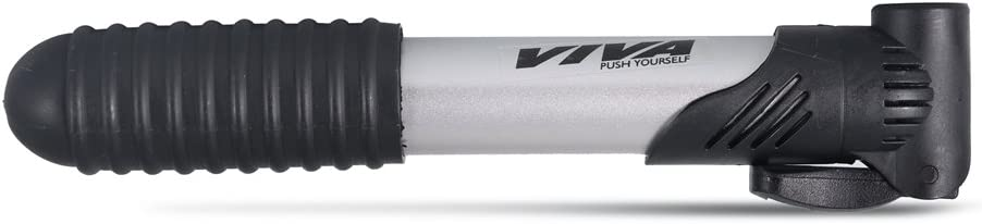 Viva VB-B7 Bicycle Metallic Pump (Black/Silver)
