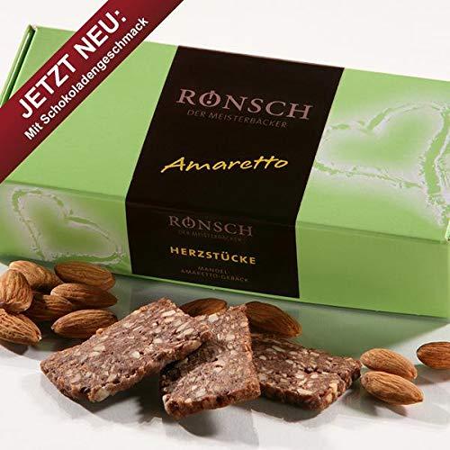 Preisvergleich Produktbild Meisterbäckerei Rönsch Mandel-Amaretto-Macadamia - Gebäck 100 g