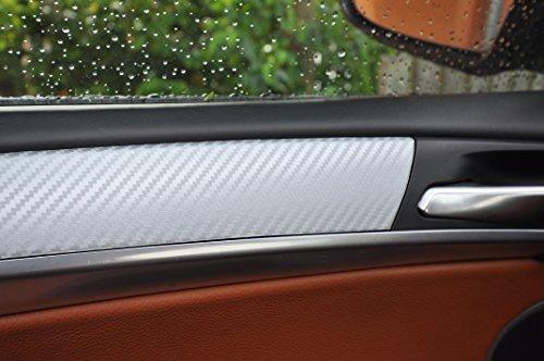 Preisvergleich Produktbild 12 tlg. Carbon grau Interieurleisten 3D Folien SET 100µm stark ,  Türleisten,  Mittelkonsole,  Aschenbecher passend für Ihr Fahrzeug
