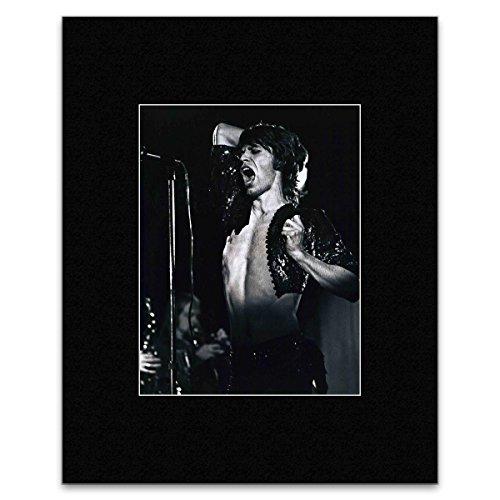Mini-Poster, Motiv: Mick-Jagger - Sticky Fingered Pomp: His Yankee Foxtrot - 28 x 21 cm