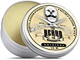 Premium Strong Moustache Wax (15ml) Unscented for styling twists,points & curls - The Beard and The Wonderful