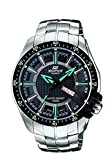 Casio Edifice Analog Black Dial Men's Watch - EF-130D-1A2VDF (ED417)