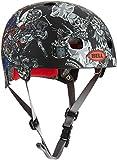 Bell Segment Fahrradhelm black + skull S (51-55cm) Radhelm Helm BMX MTB Inliner Skater Dirtbike
