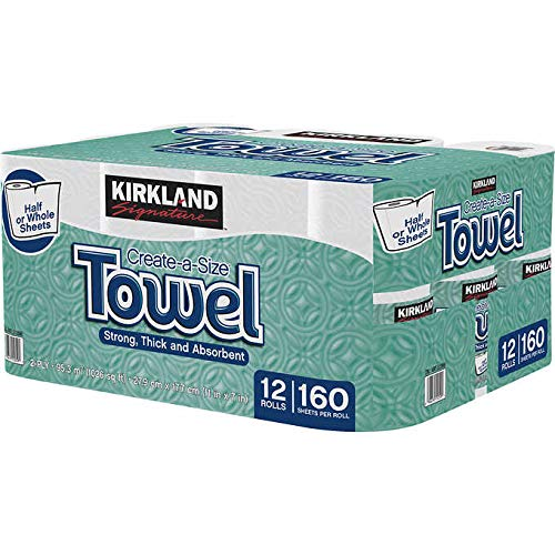 Kirkland Signature Premium Big Rolle Papier Handtücher 3Rollen, 160Blatt pro Rolle (Kirkland Blätter)
