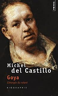 Goya - L'Energie du néant par Michel del Castillo