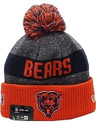 Chicago Bears sur champ classique Logo 2016Sport en tricot Sideline Bonnet Casquette NFL New Era
