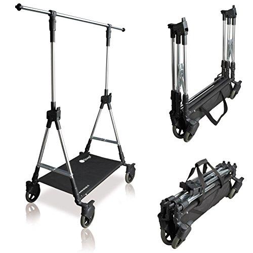 SOOPL® Fashion-Trolley Vertreter-Ständer klappbar