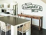 Wandtattoo Wandwort Ankerplatz Schriftzug Wanddeko maritim Wandbild Küche Text