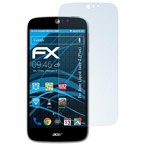 Atfolix 3x Displayschutzfolie Für Sony Xperia Z Ultra Schutzfolie Fx-clear Folie Displayschutzfolien