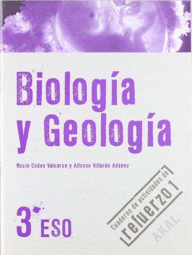 Biología y Geología 3º ESO. Cuaderno de actividades de refuerzo 1 (Enseñanza secundaria) - 9788446029045