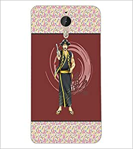 PrintDhaba Chinese Fighter D-3176 Back Case Cover for LETV (LE ECO) LE 1 PRO (Multi-Coloured)