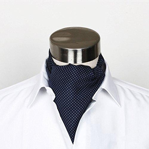 LIANGJUN Seidenkrawatte Aus Baumwolle Krawattenschal Krawatte Elegent Männer Schal Formelle Anlässe Hochzeit Büro Hemd, 128X15cm, 6 Arten Verfügbar (Farbe : 2#)