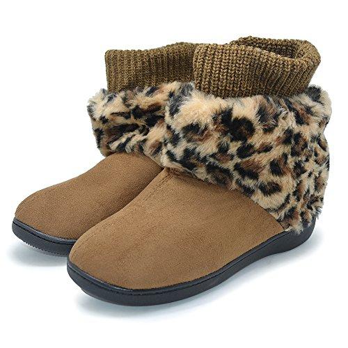Polliwoo Stivaletti da donna Invernali caldo scarpe Bootie