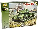 Zvezda 500783533 - 1:35 WWII Soviet Tank T-34/85