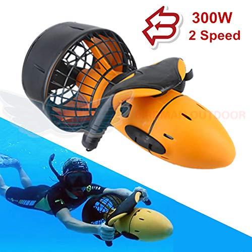ZUEN 2019 Nuovo Mare Scooter 300 w subacqueo a Doppia velocità elica Subacquea Subacquea Scooter Attrezzature per Esterno Dropshipping