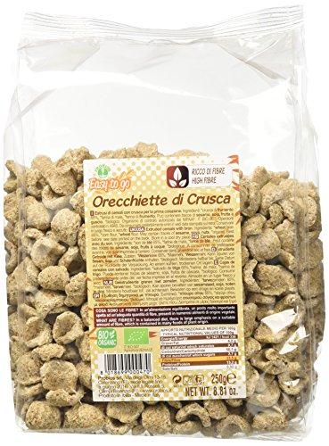 EASY TO GO Orecchiette Crusca Di Grano, 1er Pack (1 x 250 g)