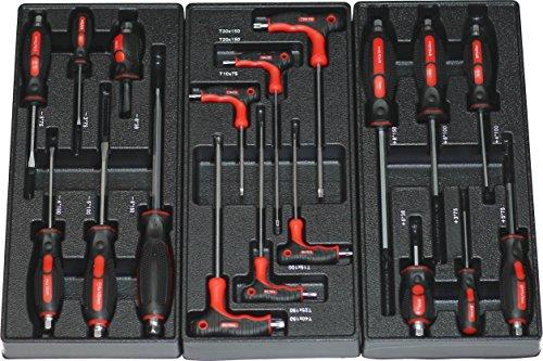 BD-Tools Werkstattwagen bestückt rot - 5
