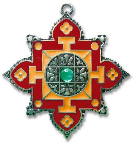 Mandala - amuleto Briar Dharma viennagold - illuminazione