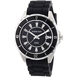 Dyrberg/Kern - 3332693 Women's Watch Analogue Quartz Black Rubber Strap