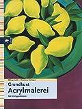 Grundkurs Acrylmalerei: Mit Vorlagenskizzen