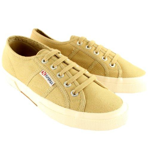 Superga 2750 Cotu Classic, Sneakers Basses Mixte Adulte Marron - Camel