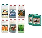 Sconosciuto Vv idroponica 5L litri canna Coco a & B 1L litro additivi–Bundle set completo completo