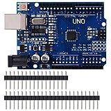 Topker ONU R3 ATmega328P CH340 Conseil Câble USB Compatible pour Le développement Arduino UNO R3 Arduino