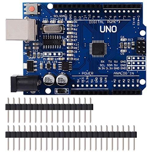 Morza UNO R3 de ATmega328P CH340 USB Development Board Cable para Arduino UNO R3 de Arduino