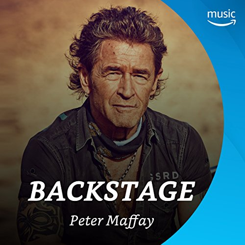 Backstage mit Peter Maffay