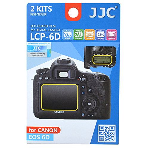JJC - Protector de pantalla LCD para Canon 6D