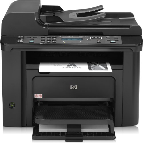 HP LaserJet Pro M1536dnf e-All-in-One Mono Laser Multifunktionsdrucker (A4, Drucker, Scanner, Kopierer, Fax, Ethernet, USB, 600x600) (Mit Laser In Drucker One All Fax)