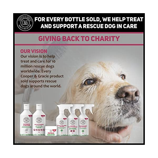 Dog Fleas Protection Spray - Tick and Flea Treatments for Dogs - Best Grooming Coat Conditioner (500ML) 7